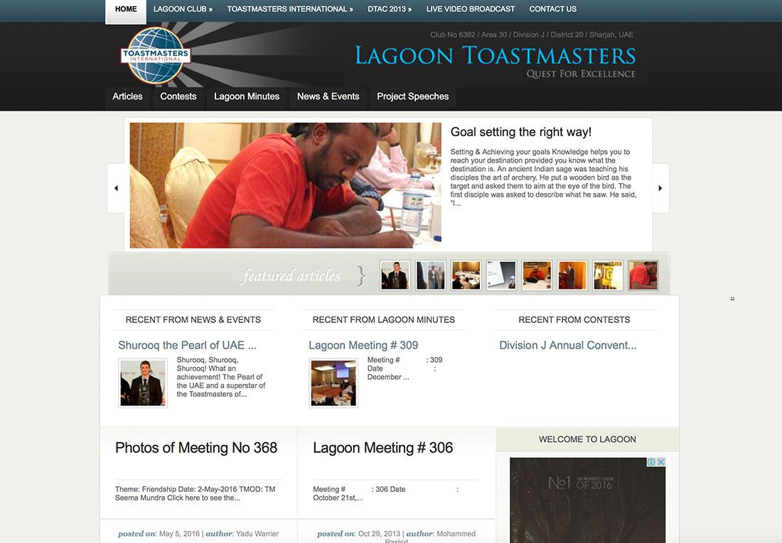 Lagoon Toastmasters