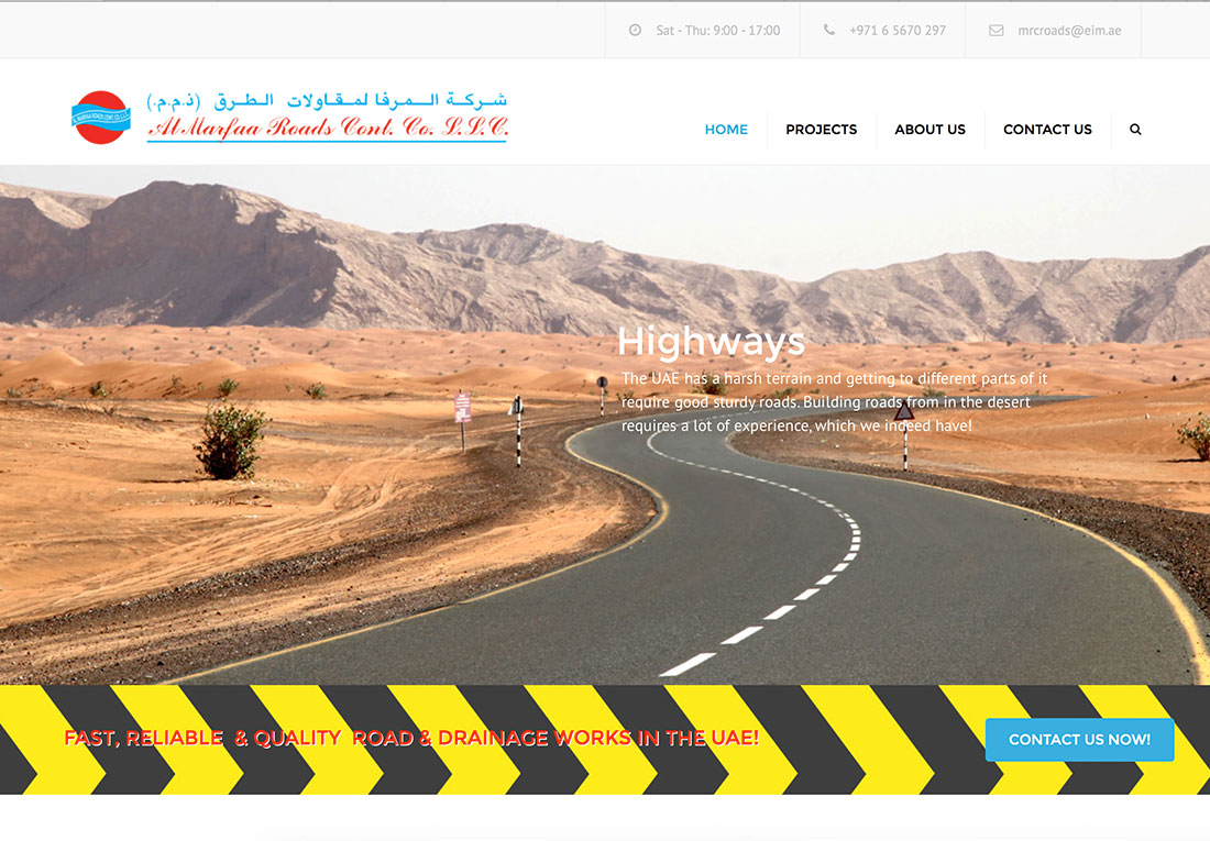 Al Marfaa Roads Contracting